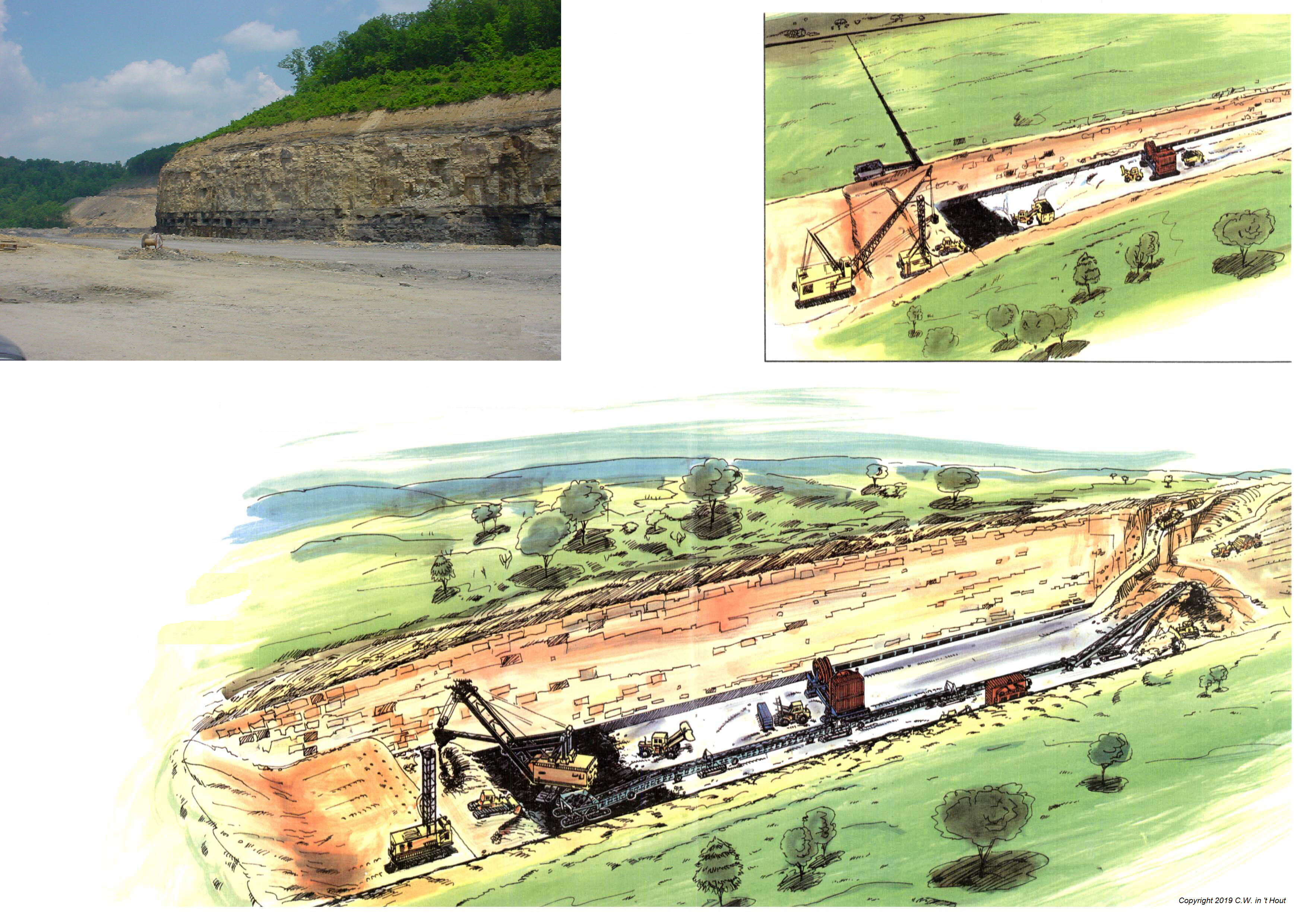 Artist Impression of Trench Mining